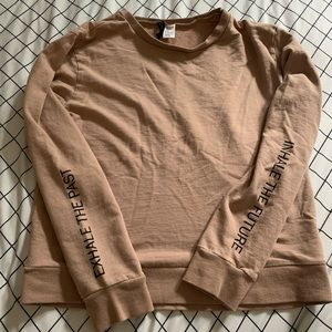DIVIDED Small Sweater Inhale, Exhale, Future, Past